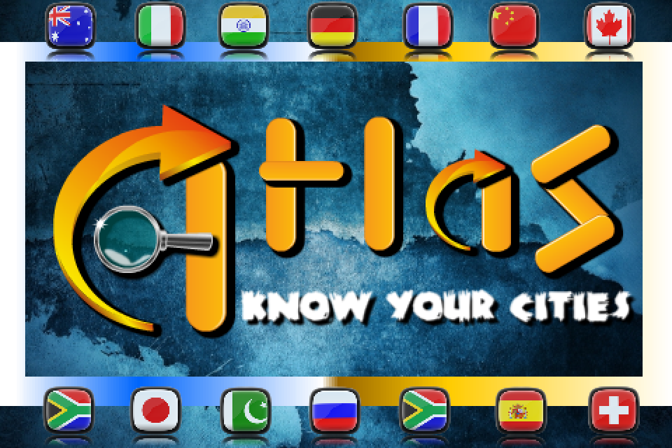 Screenshot A.T.L.A.S : know your cities