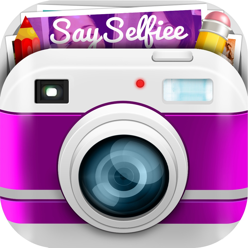 Buy SaySelfiee – Selfie camera with editing tools to auto snap perfect, gorgeous, stunning and flawless photos on the App Store